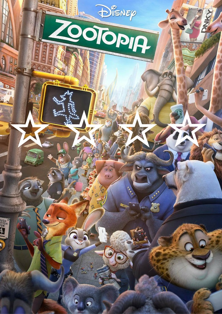 Star Poster- Zootopia