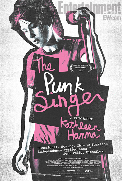The Punk Singer (2013) movie poster -- exclusive EW.com image