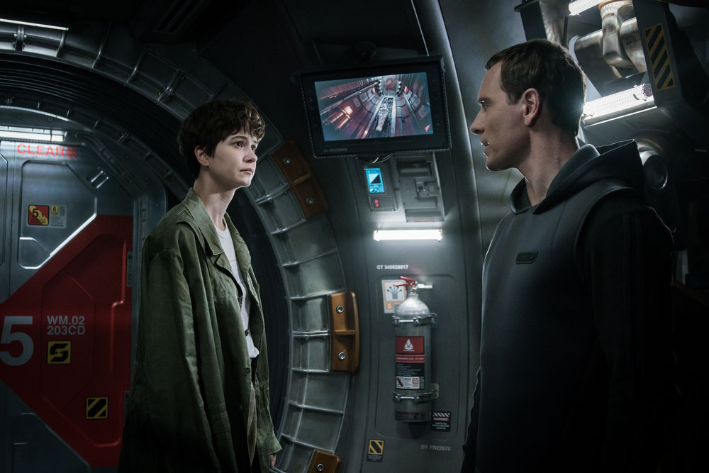 "-  ""Alien: Covenant"" is an amazing response to ""Prometheus""; expanding the Alien universe into new and abject horizons."