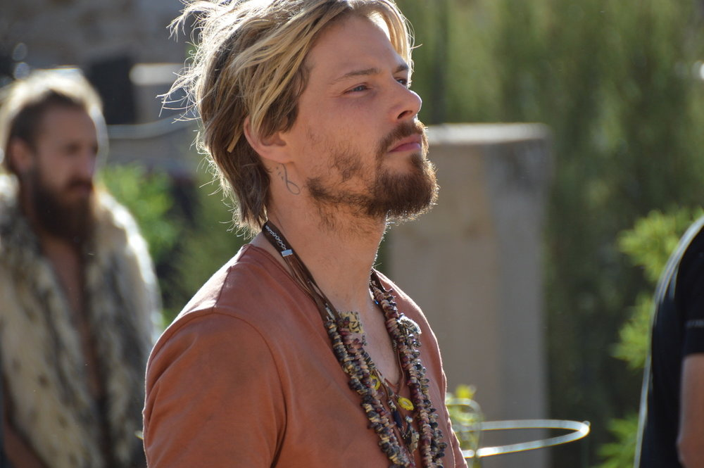 Standing up for nature, Hunter Parrish as Arthur, the charismatic leader of the Deliberates