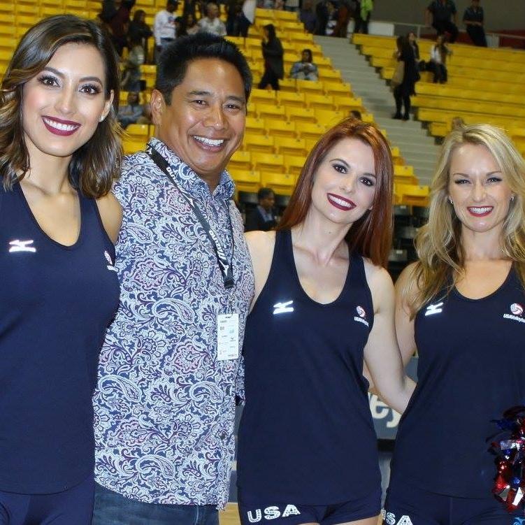 USA Ace Girls Natasha Martinez, Brittany Stephens, and Julie Dragevich-Shuler