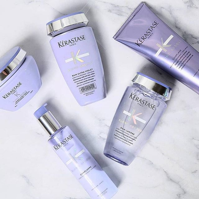 Don't miss out on the newest Kerastase Launch for maintaining blonde