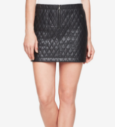 BCBG Leather Skirt - Click on Image to Shop