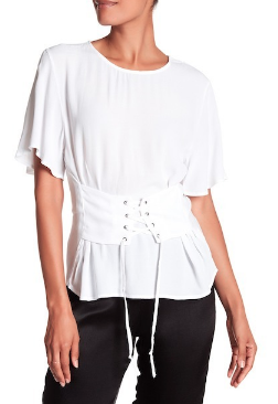 Corset T Shirt - Click on Image to Shop