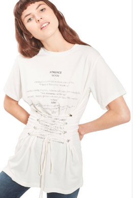 Topshop Corset Shirt - Click on Image to Shop