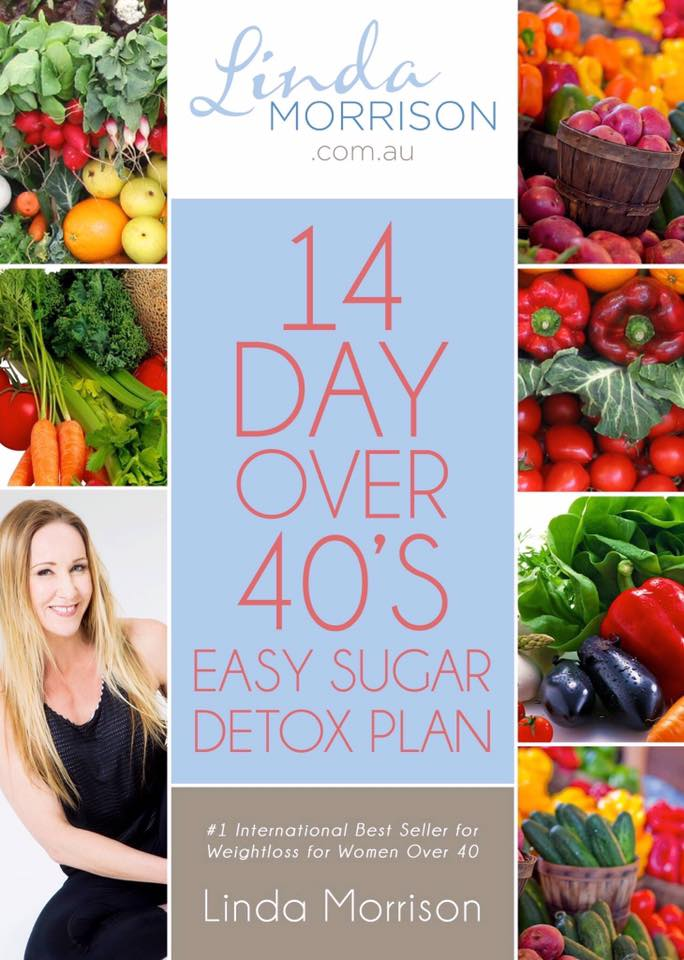 14 Day Over 40's Easy Sugar Plan. Weight loss women over 40 Author Linda Morrison