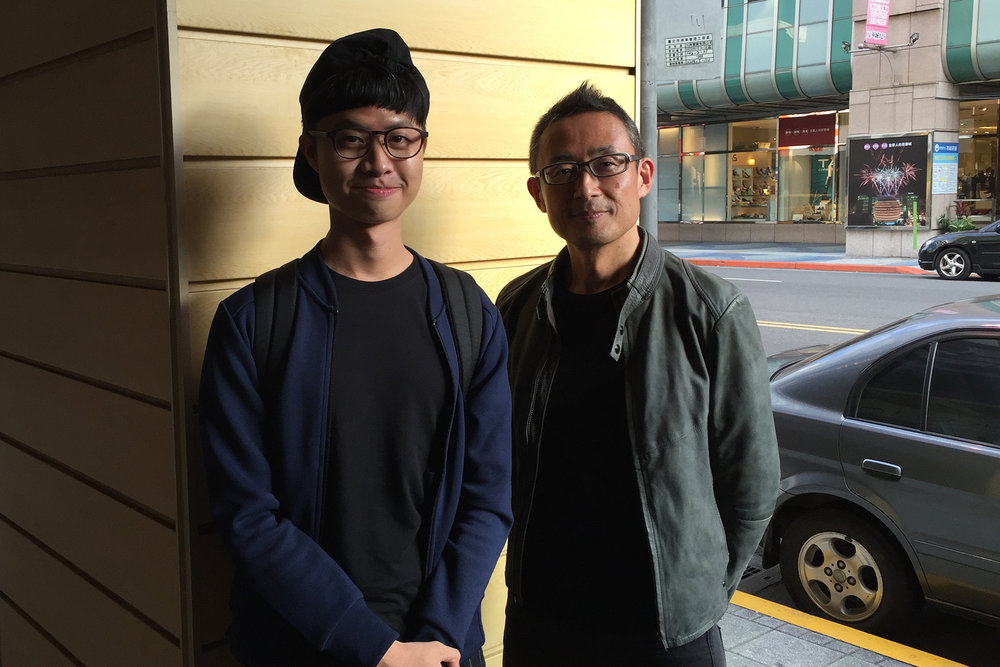 Me with Akira Kobayashi, after his typeface seminar in Taipei. He was mentored by two of the most well-known typeface designers in the world, Hermann Zapf and Adrian Frutiger.