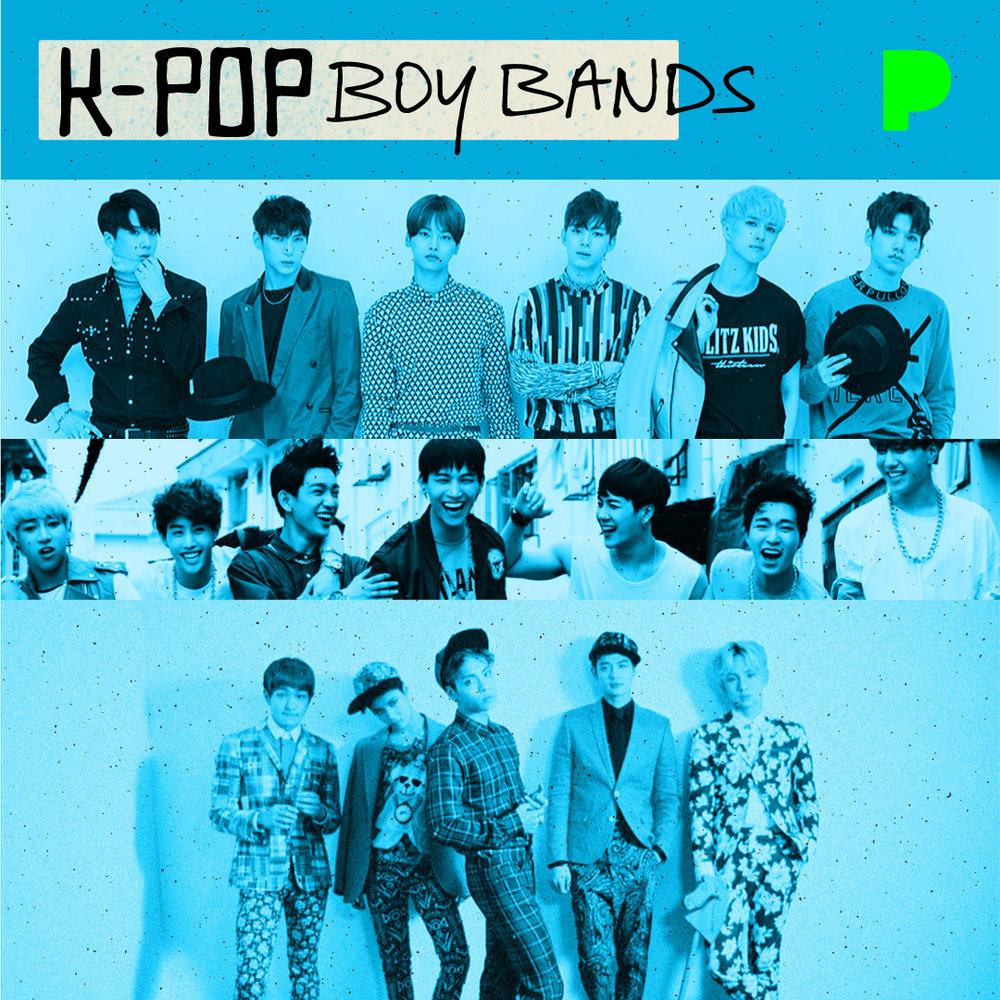 K-Pop Boy Bands