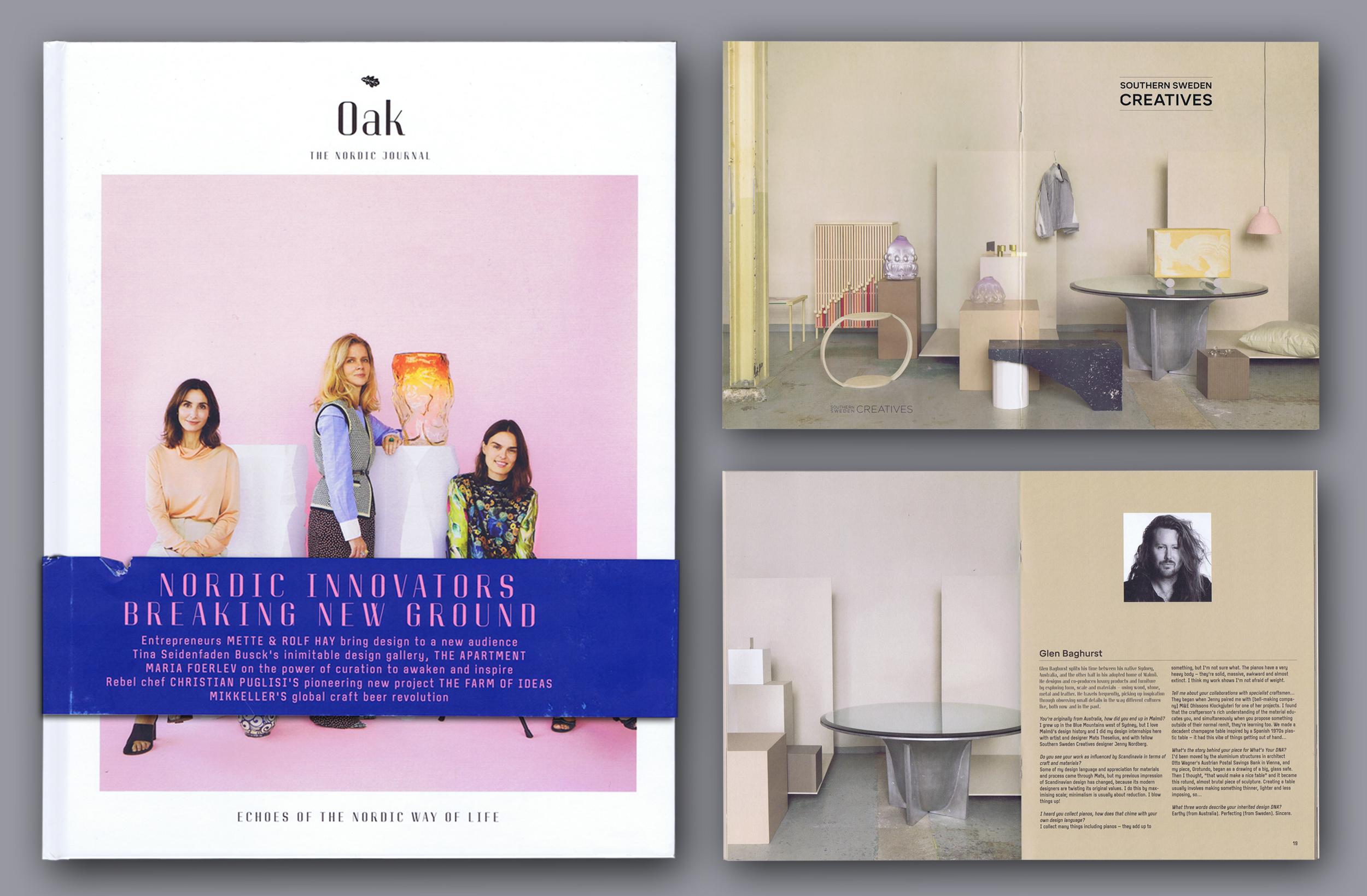 Design Salontafel Mat Wit.Publications Glen Baghurst