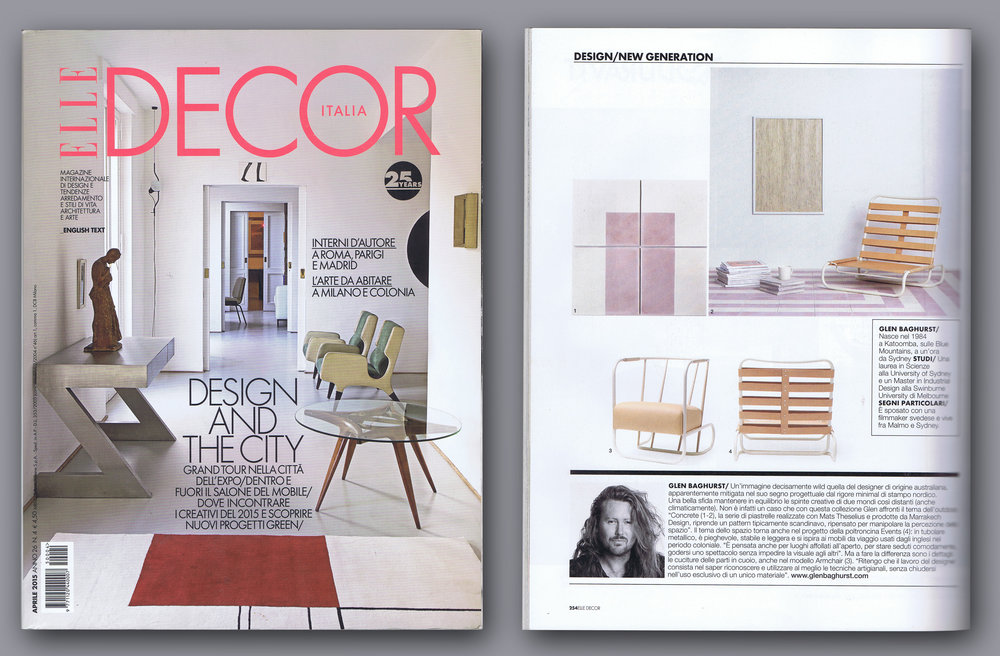 Elle Decoration Italy April 2015
