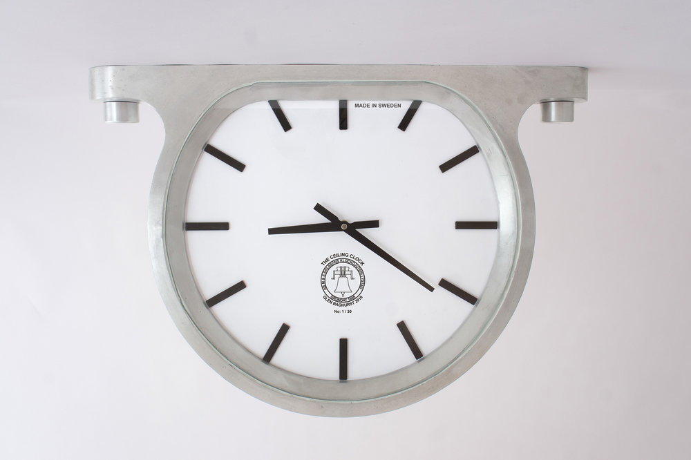 'The Ceiling Clock', wall clock
