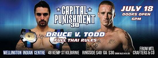 Capital Punishment 30 Wellington