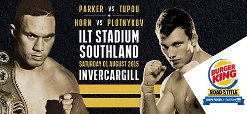 Joseph Parker live at ILT Stadium Southland