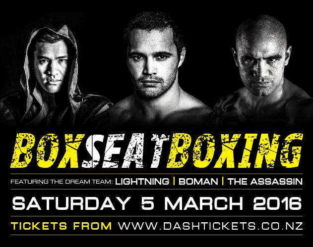 Box Seat Boxing - March 2016 Christchurch