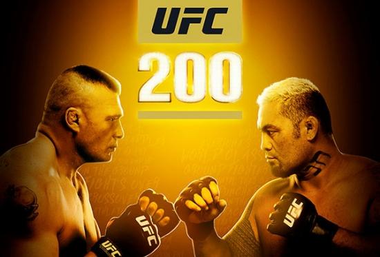 UFC 200 - Brock Lesnar vs Mark Hunt