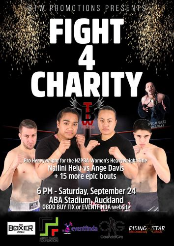 BTW Promotions Presents Fight 4 Charity
