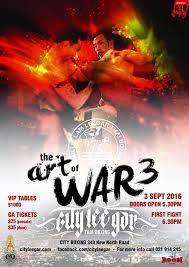 Art of War 3 City Lee Gar