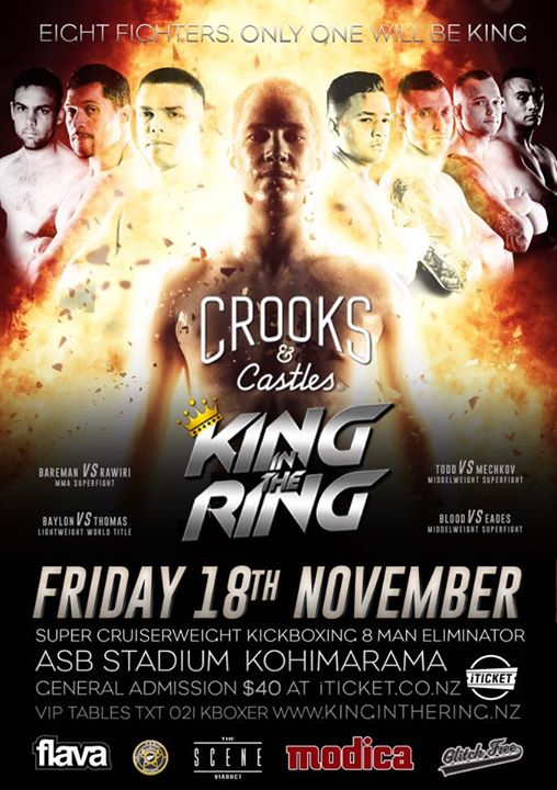 King in the Ring 92I - Friday 18th November 2016