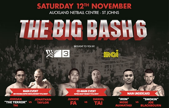 The Big Bash 6 Boxing Event Auckland