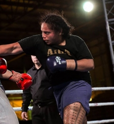 Arlie Masina boxing