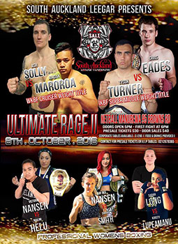 South Auckland Leegar Thaiboxing event