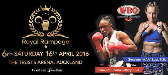 ROYAL RAMPAGE April 2016 Auckland