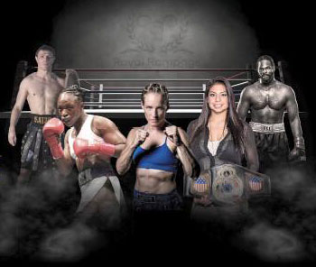 WBO World Female Featherweight Title Fight