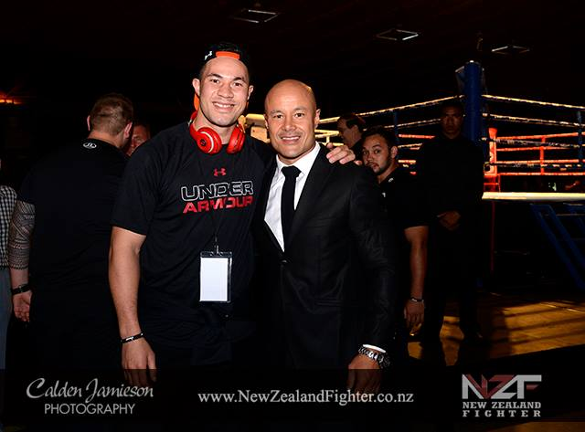 Boxing nz fighter Joseph Parker