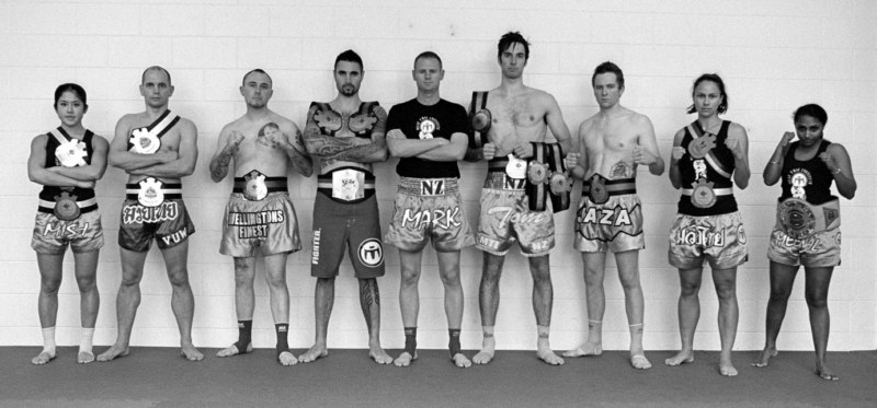 Muay Thai Institute wellington fighters