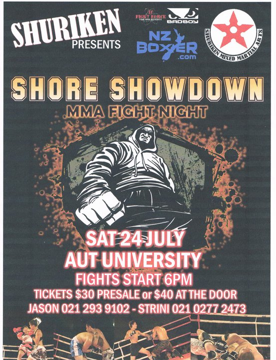 SHORE SHOWDOWN MMA - 24 July 2010