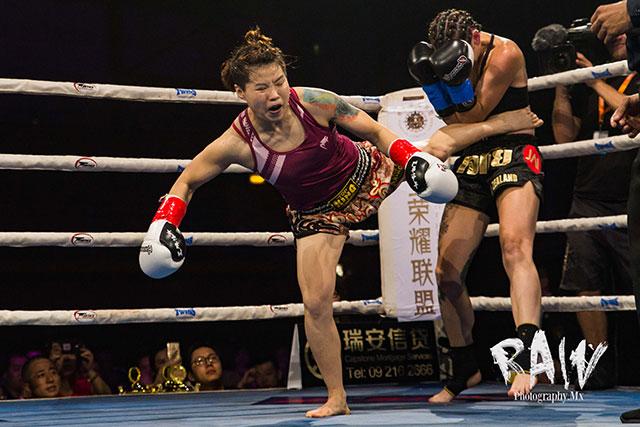 Gong Yanli beat Selena Small