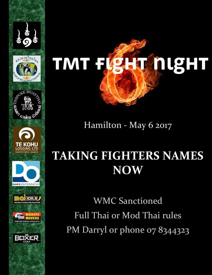 TMT Fight Night 6 Hamilton