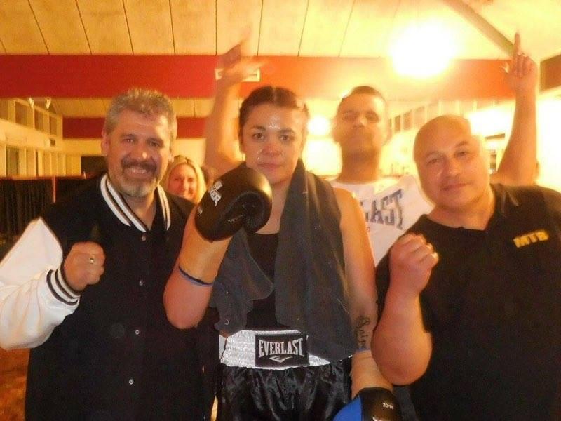 Kirsty Lupeamanu Boxer