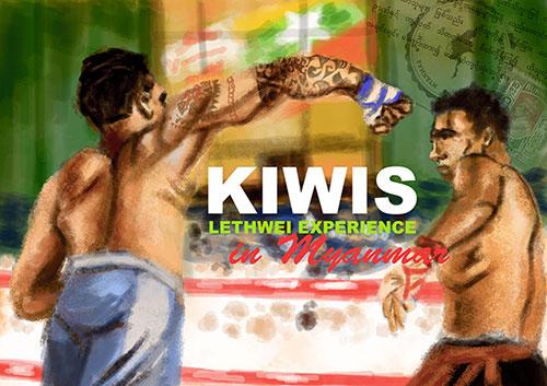 Kiwi's head to head in Myanmar
