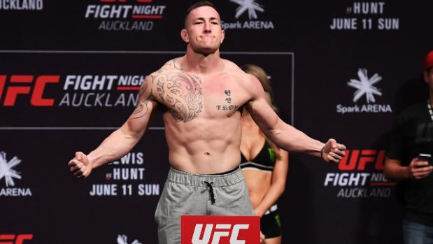 Luke Jumeau UFC NZ