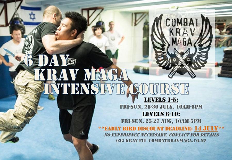 6 Day All Intensive Combat Krav Maga Course