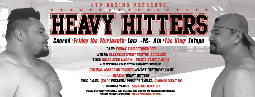 Heavy Hitters Boxing Event October 2017