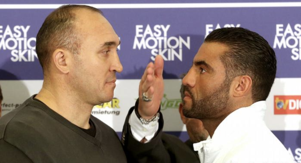 Syrian-German Manuel Charr takes on Russia's Alexander Ustinov in the world WBA heavyweight title fight this Saturday.