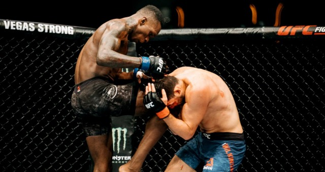 Israel Adesanya vs Rob Wilkinson /  Photo: Emanuel Rudnicki