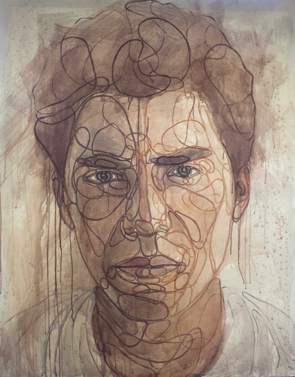 Juan, 2015. Acrílico sobre lienzo 142 x 114