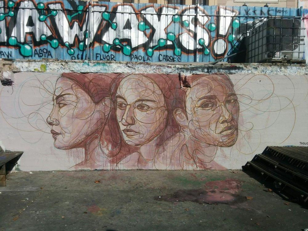 El Campo de la Cebada, Madrid. España