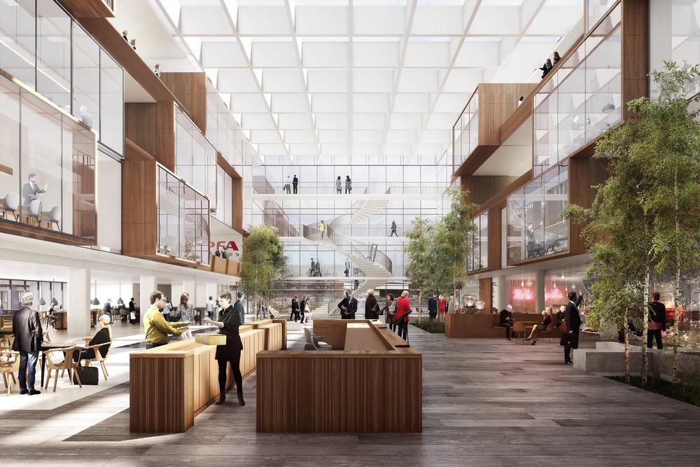 PFA HQ, COPENHAGEN