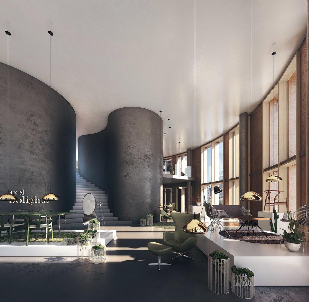 Axel Towers Furniture Store In Copenhagen Denmark With Denmark Furniture  Stores