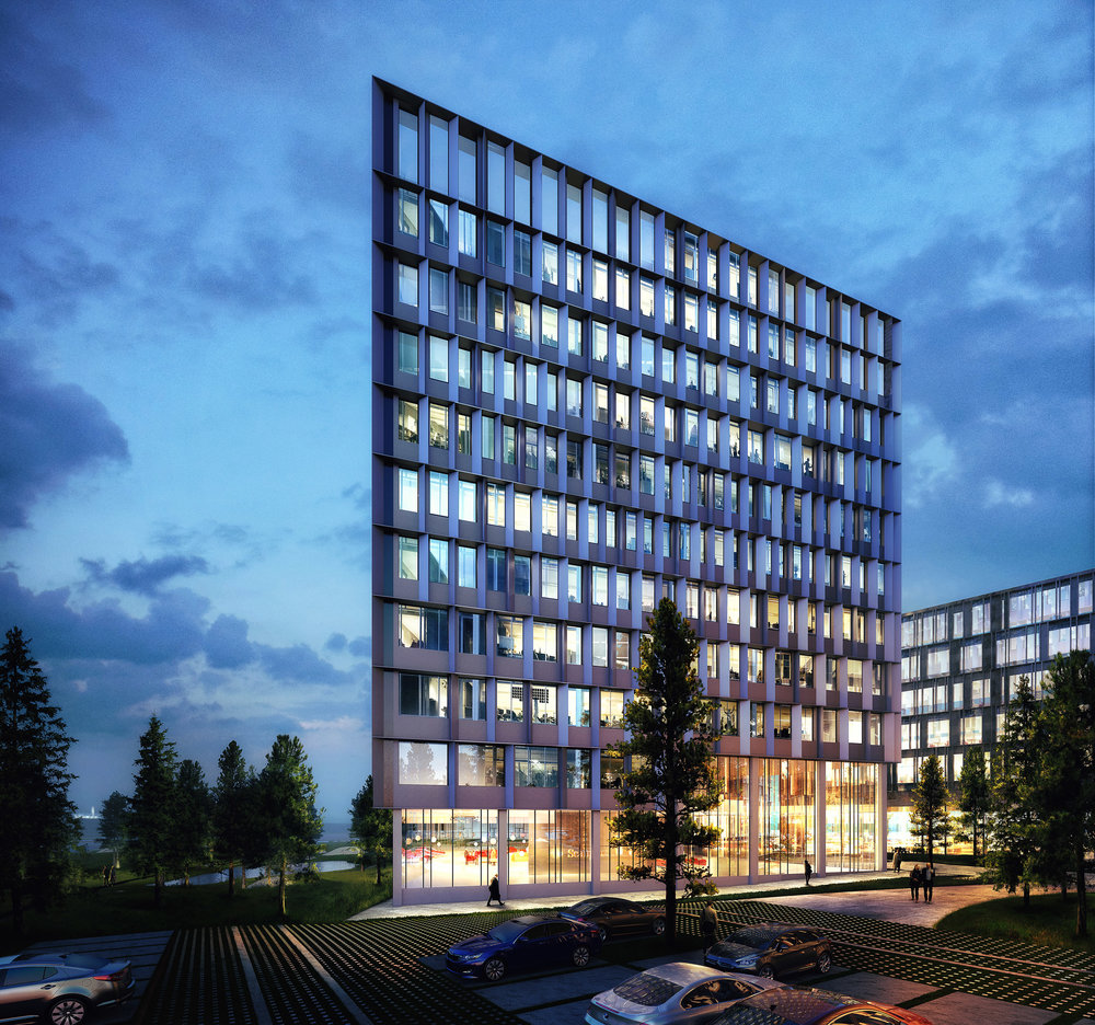Scanport - New business area in Copenhagen, Denmark