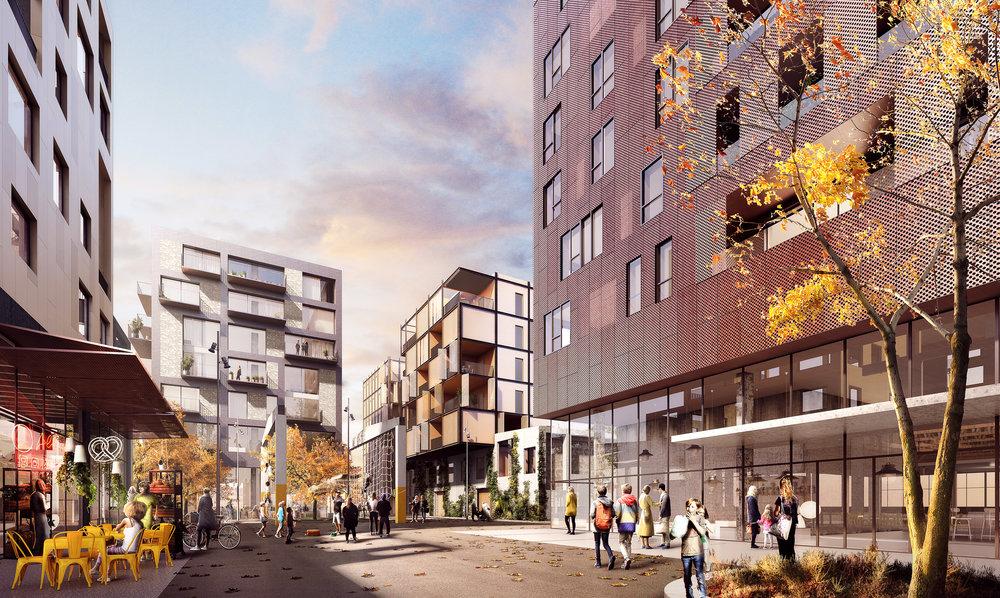 Paper Island - Masterplan for area in Copenhagen, Denmark