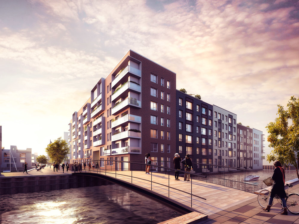 West Coast Park - Dwelling project in Copenhagen, Denmark.
