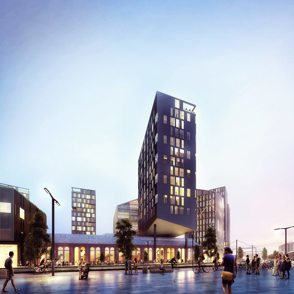 Hoffsveien 1 - Masterplan project in Oslo, Norway.