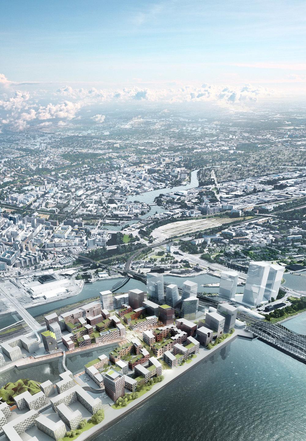 Hafencity - Masterplan project in Hamburg, Germany.