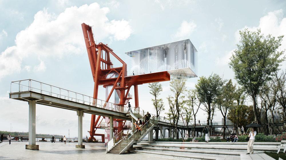 West Bund Biennale - Pavillion design in Shanghai, China.