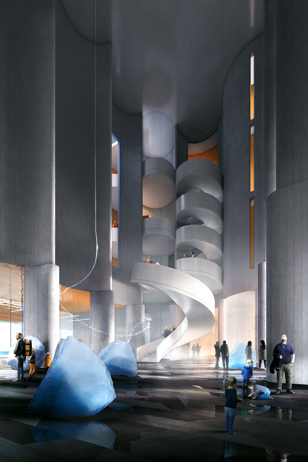 Kunstsilo - Art museum project in Kristiansand, Norway.